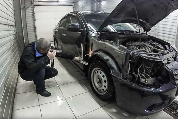 Оценка и экспертиза автомобиля после ДТП